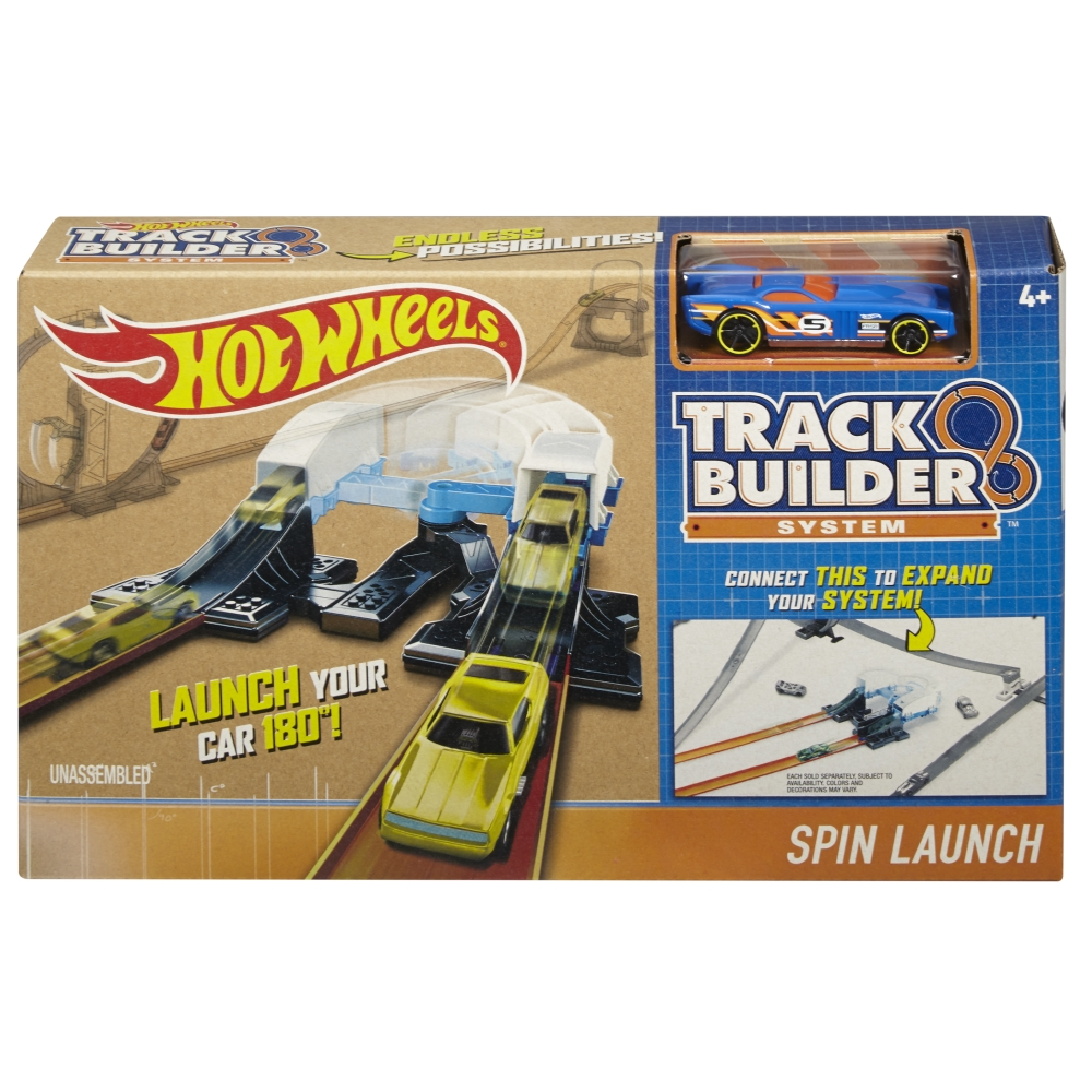Hot Wheels Track builder Spin launch