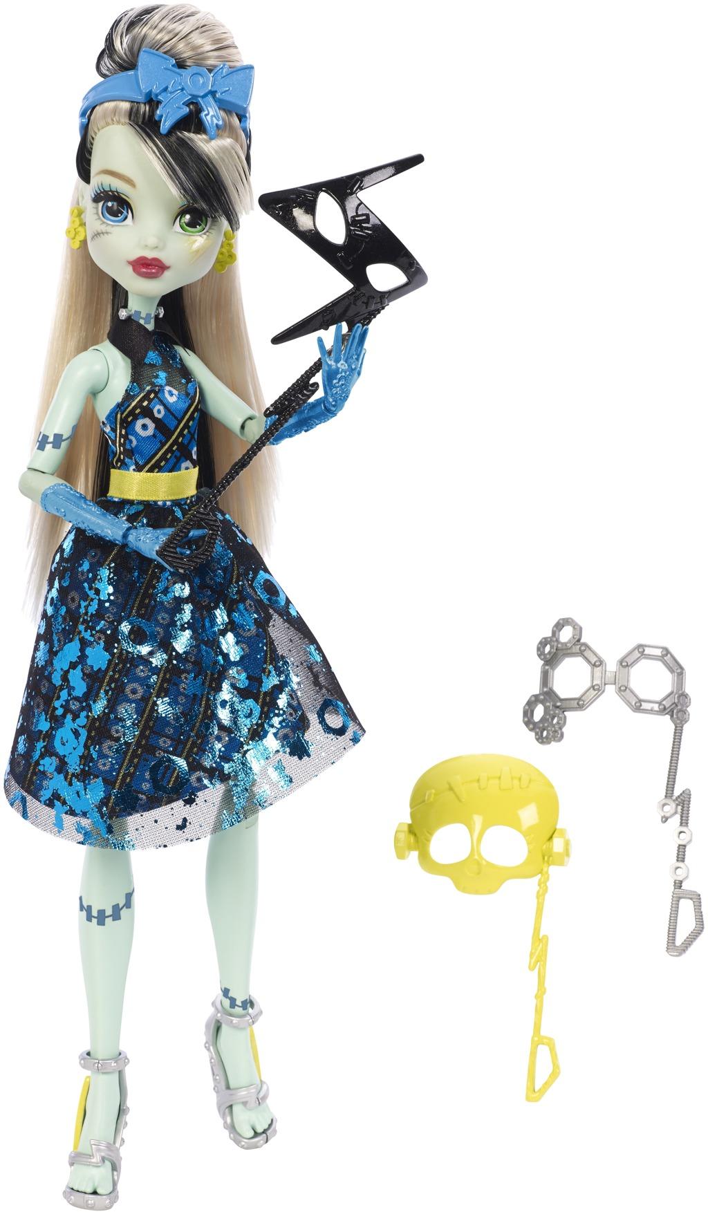 Monster High Monsterka s doplňky do fotokoutku Monsterka: Frankie Stein™