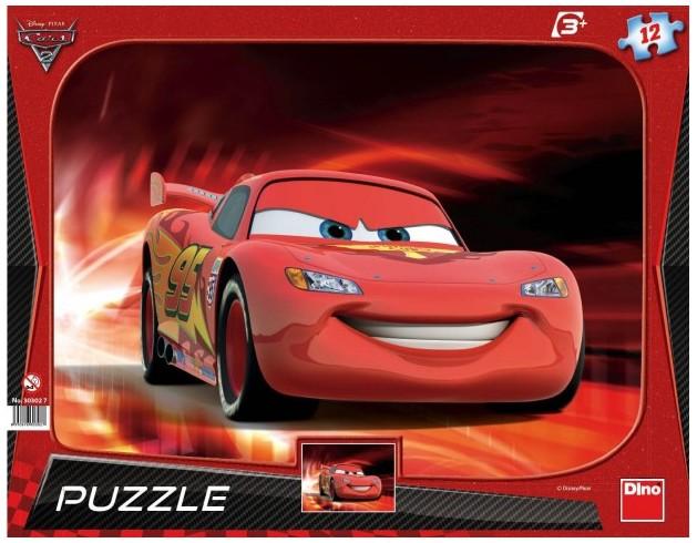 DINO Puzzle Cars 2: Blesk McQueen 12 dílků